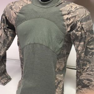 SNC Camouflage Military Small Long Sleeve Shirt